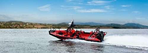 Fast SAR RIB Boat