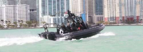 Professional RIB boat
